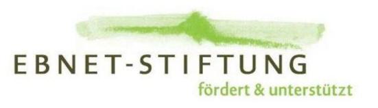 EBNET-STIFTUNG fördert & unterstützt