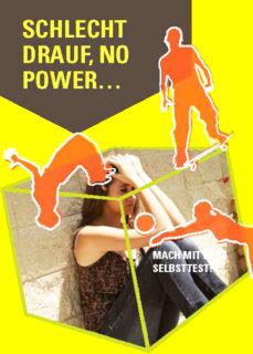 """Flyer """"OFPG"""" Schlecht drauf no Power"""